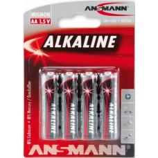 AM-AKL-4AA Ansmann Alkaline AA battery (4pcs)