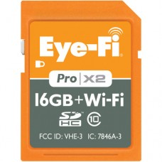 EF-SDPX216GB Eye-Fi Pro X2 16GB + WIFI SDHC Class 10 Memory card