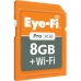EF-SDPX28GBCFA Eye-Fi Pro X2 8GB + WIFI SDHC Memory card & DigiGear Extreme SD-HC-XC TO CF Adapter
