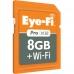 EF-SDPX28GBCFA Eye-Fi Pro X2 8GB + WIFI SDHC Memory card & DigiGear Extreme SD-HC-XC TO CF Adapter