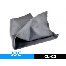 JJC-CL-C3 Microfiber Cleaning Cloth with 18% Grey color