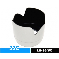 JJC-LH-86(W) Lens hood replacement for Canon ET-86 (White)