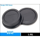JJC-L-R1 Rear lens cap and camera body cap for Canon EOS