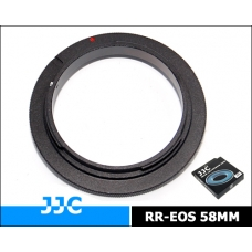 JJC-RR-EOS58 Reverse Ring Mount (58mm) for Canon EOS