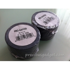 "OEM-PGF55mmX11m Pro-Gaffer Gaffer Cloth Tape - Matte Black - 2"" x 12 Yards (55mm X 11m)"