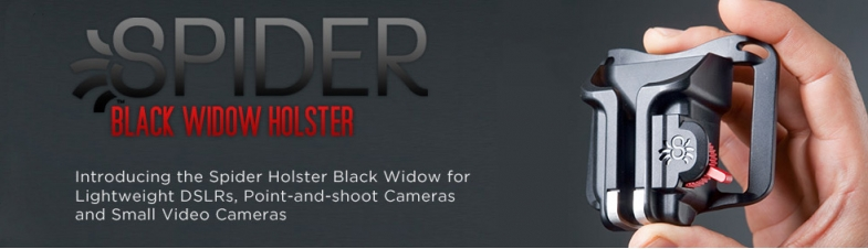 Spider Holster Black Widow